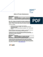 Net Safety M2 Solid State Relays Discontinuance Notification 05-01-2014
