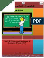 Cuadernillo de Actividades Matemáticas Secundaria