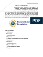 Full Guide on NSF Fellowships