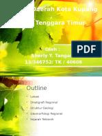 Geologi Regional Kota Kupang - NTT