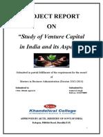 Project on Venture Capital
