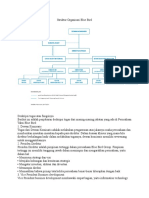 Struktur Organisasi Blue Bird