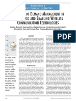 OVERVIEW OF DEMAND MANAGEMENT IN SMART GRID AND ENABLING WIRELESS COMMUNICATION TECHNOLOGIES