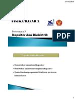 3. Kapasitor Dielektrik (MP)