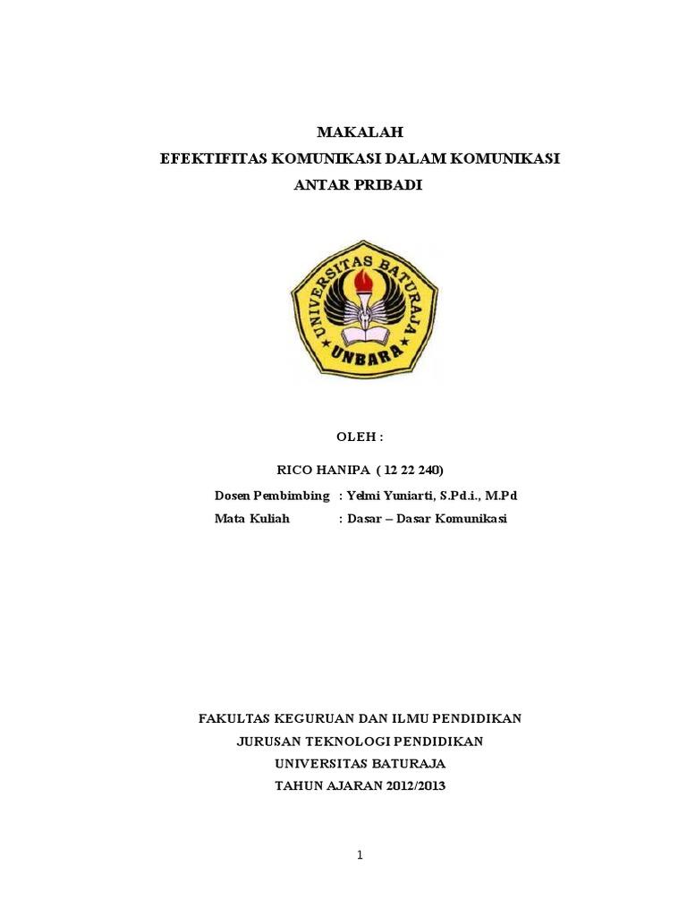 Cover Makalah Docx
