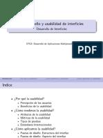 Diseño de interfaces-Usabilidad