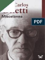 Onetti Juan Carlos - Miscelanea