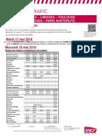 Grève SNCF 18 mai