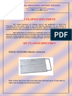 Flawed Specimens