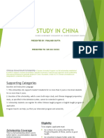 Study in China Presentation 2