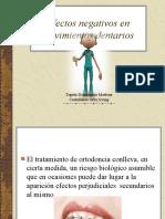 efectos negativos de la ortodoncia.ppt