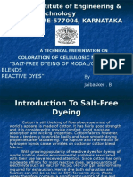 Salt Free Dyeing