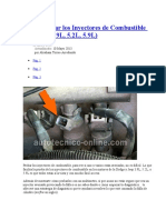 Cómo Probar Los Inyectores de Combustible (Chrysler 3.9L, 5.2L, 5.9L)