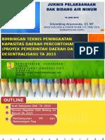 Paparan DAK P2D2 Bimbingan Teknis 2015 16 Juni 2015