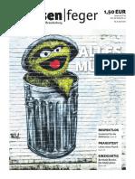 strassenfeger Ausgabe 08 2016 - Muell