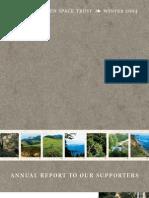Landscapes Newsletter, Winter 2004 ~ Peninsula Open Space Trust