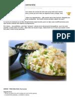 Arroz Tres Delicias Cantones