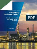 Recharging the Power Sector