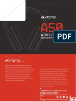 Astro A50 Headset Manual