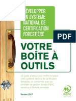 Développer un systeme national de certification forestière