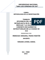Aditivo Intraplast proyecto de investigacion