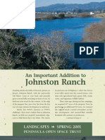 Landscapes Newsletter, Spring 2001 ~ Peninsula Open Space Trust
