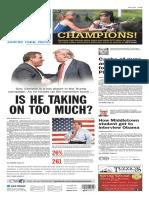 Asbury Park Press front page Tuesday, May 17 2016