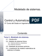 Tema 2 - Modelado de Sistemas