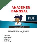 Manajemen-Bangsal