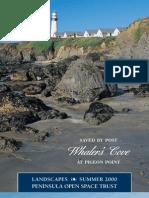 Landscapes Newsletter, Summer 2000 ~ Peninsula Open Space Trust