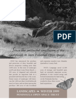 Landscapes Newsletter, Winter 1999 ~ Peninsula Open Space Trust
