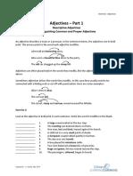 Grammar Adjectives1