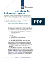 Tailored Information Indonesian Spices Eu Marketing Strategy Indonesia Europe Spices Herbs 2013