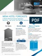 MENA Hotel Forecasts - February 2016 - English