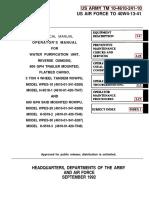Truck Mounted RO Unit Manual