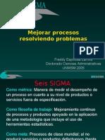 Freddy Espinosa Larriva Seis Sigma