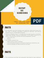 Dayap v. Sendiong (Tan)