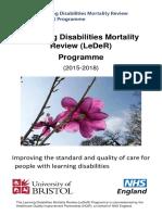 LeDeR Programme Leaflet for Families FINAL