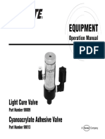 Light Cure Valve