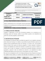 Estimado Estudiante Diligencie Los Campos Presentados y Numerados Del Uno