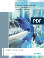 Introduction and Terminology for Functional Safety of Machines and System 2013
