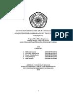 BAB 1 2 3 Proposal Fitofarmaka Fix