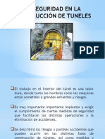 Seguridad en la Construcción de Túneles