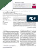 A Novel TiO2–SiO2 Nanocomposite