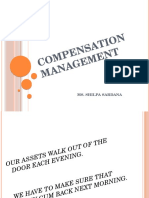 Introduction to Compensation Mgt