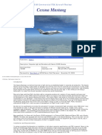AvSim Flight One Cessna Citation Mustang