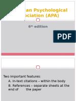 l5 Apa 6th Edition