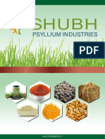 Shubh Psyllium Industries Gujarat India