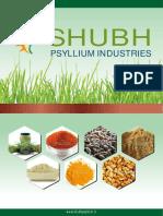 Shubh Psyllium Industries Gujarat India