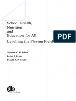 School Health, Nutrition and Education for Children